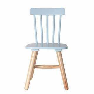 Chaise enfant en bois Bleue...