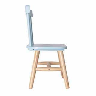 Chaise enfant en bois Bleue The Concept Factory
