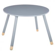 Table d'appoint enfant en bois MDF douceur Atmosphera Gris