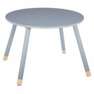 Table d'appoint enfant en bois MDF douceur Atmosphera Gris