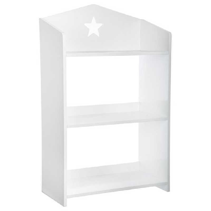 Bibliothèque enfant 3 niveaux Atmosphera Blanc
