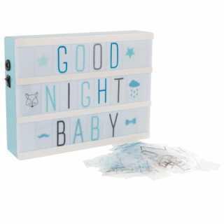 Boîte Lumineuse Éclairage Led Atmosphera For Kids Bleu