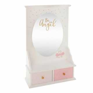 Coiffeuse de table Ange Atmosphera for kids Rose