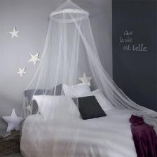 Ciel de lit avec étoiles 60 x 250cm Atmosphera for kids Blanc