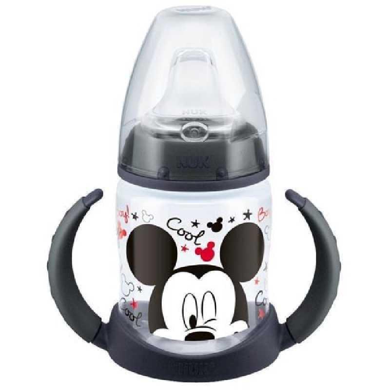 Biberon d'Apprentissage 150ml 6-18m Mickey Mouse Disney Nuk