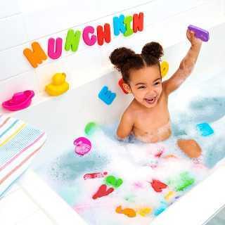 Lettres et Chiffres pour le Bain Munchkin