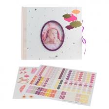 Livre de naissance personnalisable bébé fille Tom & Zoé
