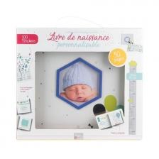 Livre de naissance personnalisable bébé garçon Tom & Zoé