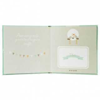 Album de bébé audio - 16 pages Atmosphera Vert