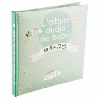 Album de bébé audio - 16 pages Atmosphera Vert