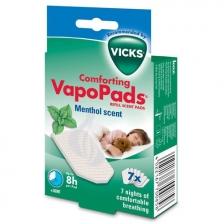 Set de 7 VapoPads au menthol Vicks