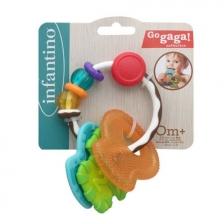 Hochet anneau de dentition multi-matières Infantino