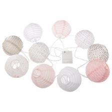 Guirlande lumineuse 10 boules LED Demoiselle Atmosphera