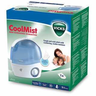 Mini humidificateur à ultrasons à air froid Mini Cool Mist Vicks