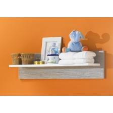 Chambre bébé complète Marlene Style : Blanche Grise