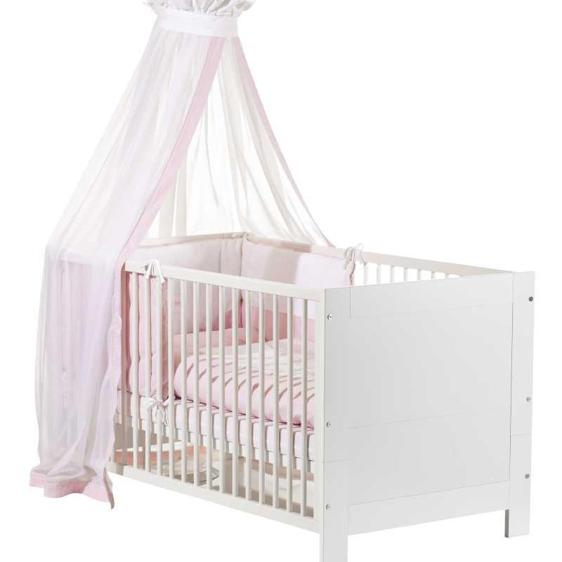 Chambre bébé complète Marlene Style : Blanche