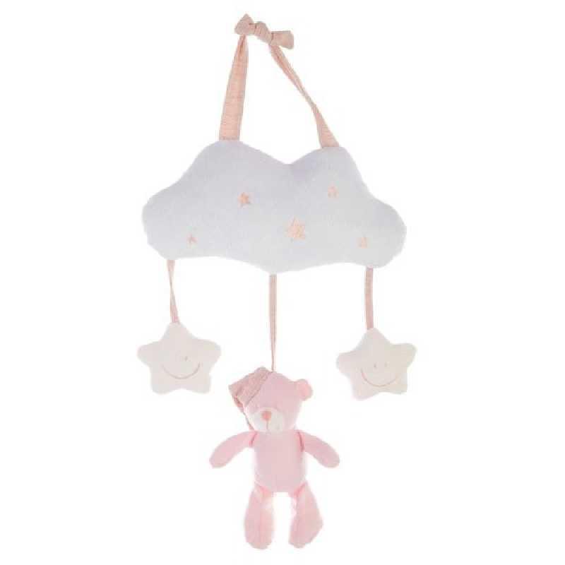 Suspension bébé étoile rose Atmosphera