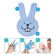 Lapin Brosseur Oral Care Rabbit Bleu Mam