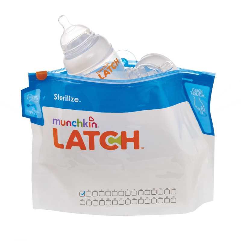 Sachets de Stérilisation micro-onde Lot de 6 Latch Munchkin
