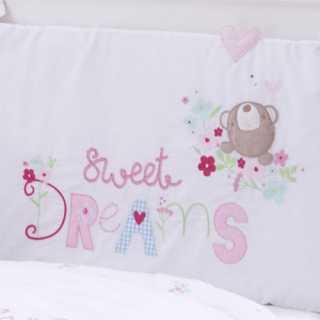 Parure de lit bébé - Ensemble 3 pièces Sweet Dreams Silvercloud