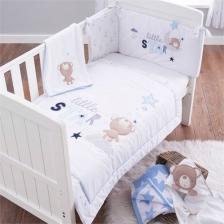 Parure de lit bébé - Ensemble 3 pièces Little Star Silvercloud