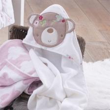 Cape de bain à capuche bébé Sweet Dreams Silvercloud