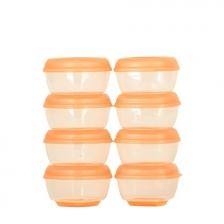 Mini pots de congélation Press-n-Pop Lot de 8 Vital Baby