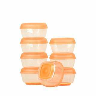 Mini pots de congélation Press-n-Pop Lot de 8 Vital Baby