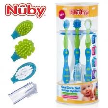 Set évolutif de brosse à dents Nuby