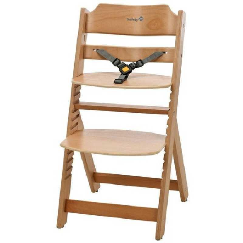 Chaise Haute Évolutive Timba en Bois de hêtre Safety 1st