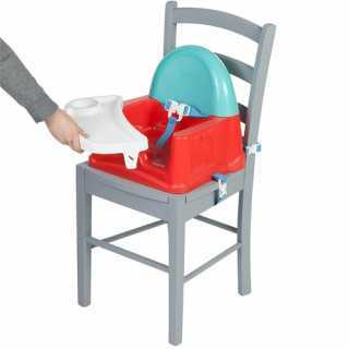 Réhausseur de chaise Travel Booster Seat Rouge Safety 1st