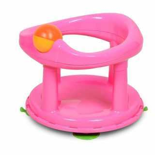 Siège de bain Pivotant Rose Safety 1st