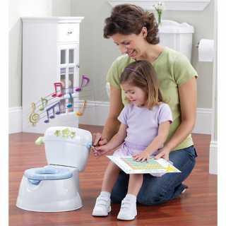 Pot de toilette Smart Rewards Blanc Safety 1st