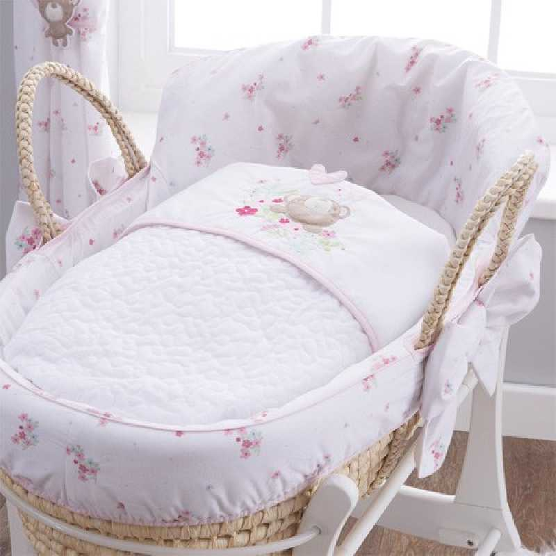 Couffin en osier bébé Sweet Dreams Silvercloud