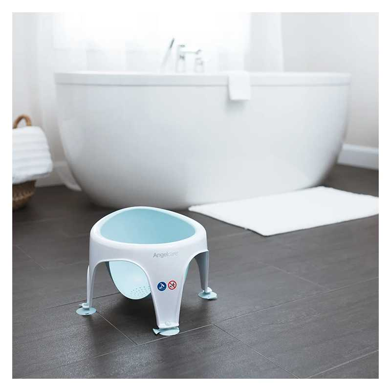 Anneau de bain bébé bleu Angelcare