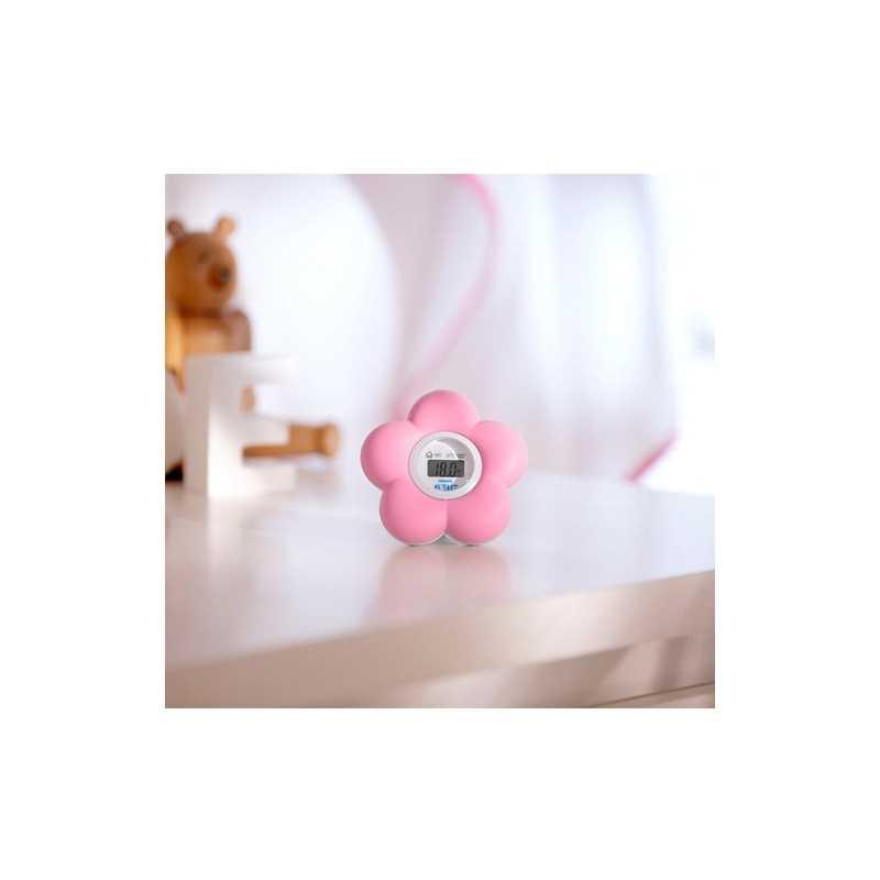 Thermomètre de bain et chambre Fleur Philips Avent Rose