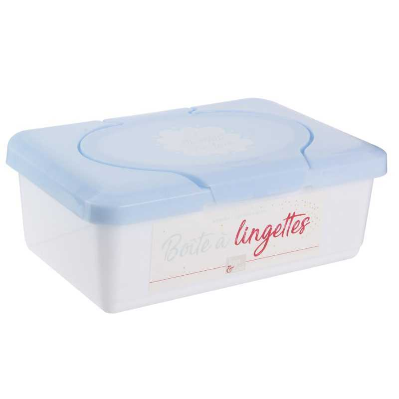 Boîte à Lingettes Bébé Tom&Zoé - Bleu