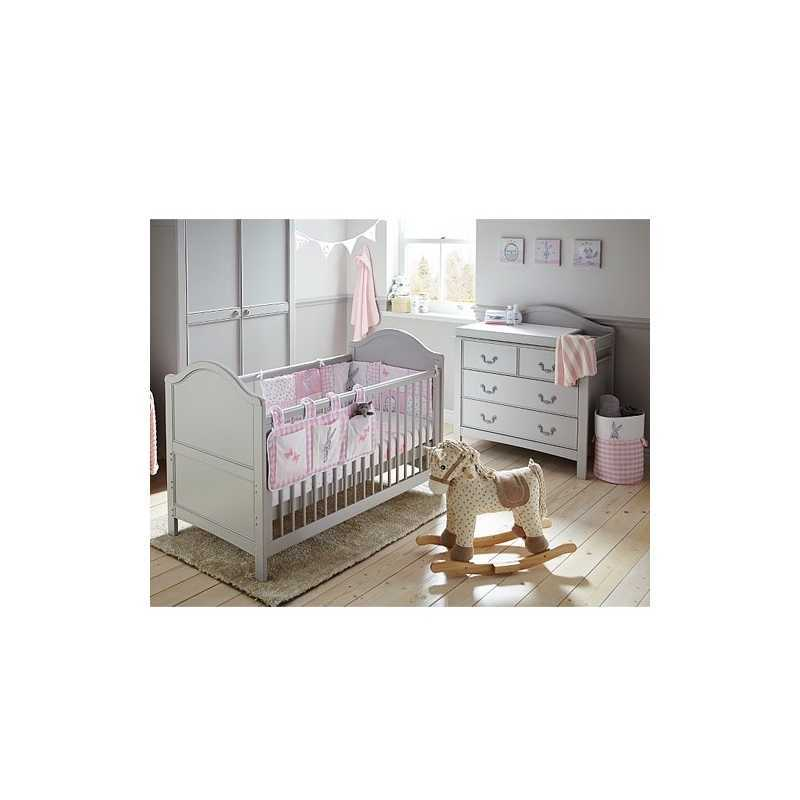 Commode de chambre bébé Toulouse Gris East Coast Nursery