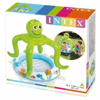 Piscine bébé gonflable Pieuvre Intex
