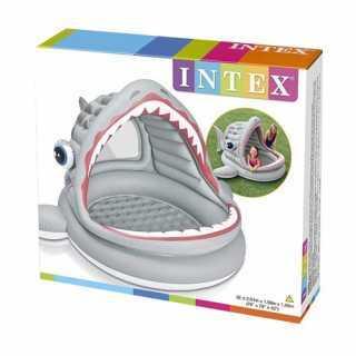 Piscine gonflable Shark Requin Rugissan Intex