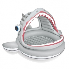 Piscine gonflable Shark Requin Rugissan Intex