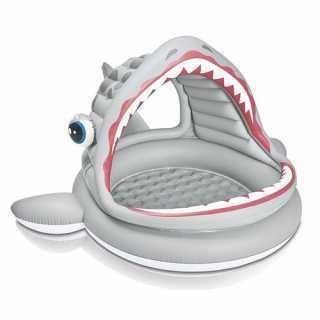 Piscine gonflable Shark...