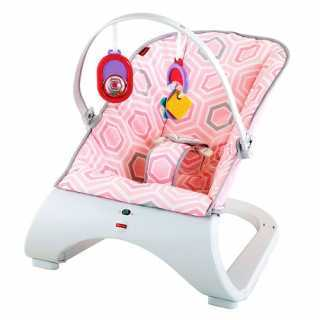 Transat bébé Bouncer Comfort Rose Fisher Price