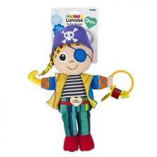 Jouet de voyage doudou bébé Horace le Pirate Lamaze
