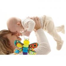 Jouet de voyage doudou bébé Freddie la luciole Lamaze