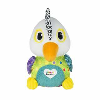 Peluche Interactive et Educative Repetou Le Perroquet Lamaze