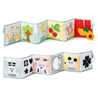 Livre évolutif d'éveil en tissu 3 en 1 Taf Toys