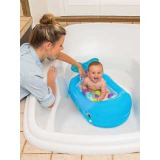 Baignoire gonflable baleine...