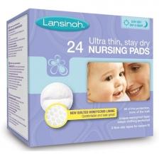 Lot de 24 coussinets d'allaitement absorbants jetables Lansinoh