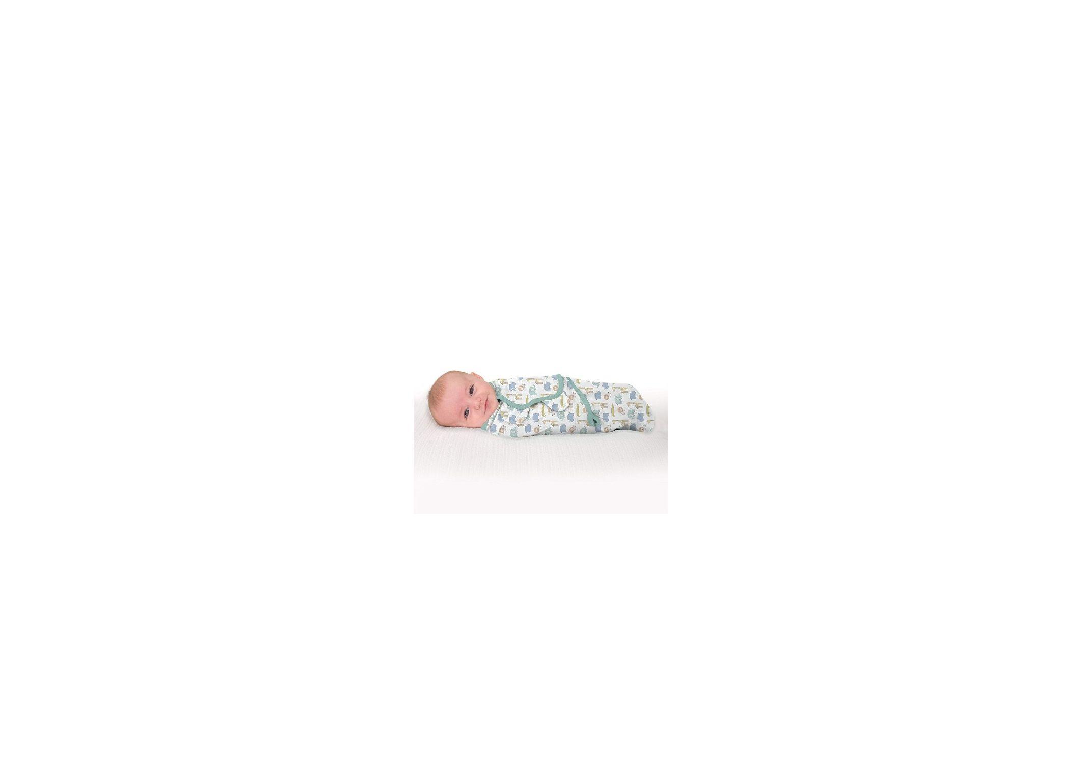 Gigoteuse bébé Swaddle me Safari 0-3 mois Summer Infant